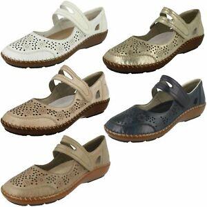 Détails sur Femmes Rieker Antistress Chaussures