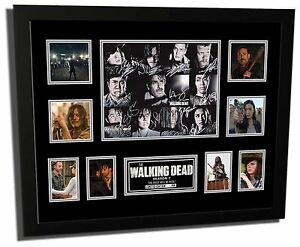 The Walking Dead Season 7 Cast Signed Limited Edition Framed