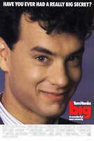 """BIG Movie Poster [Licensed-NEW-USA] 27x40"""" Theater Size (Tom Hanks)"""