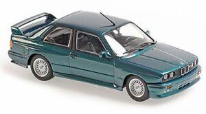 BMW M3 (E30) - 1987 - greenmetallic - Maxichamps 1:43