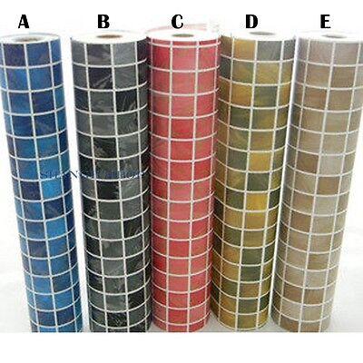 Self Adhesive Wall Paper Mosaic  Tile Vinyl Sticker Film Waterproof  0.5MX0.5M