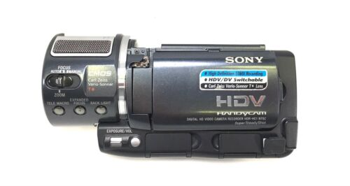 HDR-HC1 HC1 HDRHC1 Sony Side Cabinet With LCD Fully Tested Works Perfectly