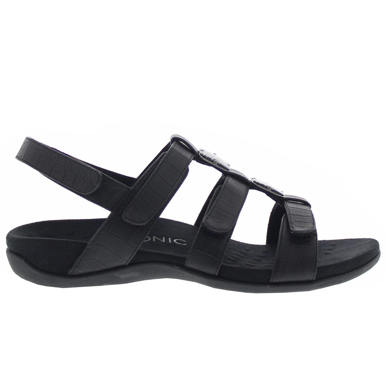 Vionic 44 Amber negro mujer Sandals