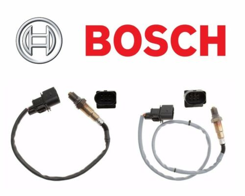 For BMW E53 X5 04-06 Set of Front Left /& Right Oxygen Sensors Bosch
