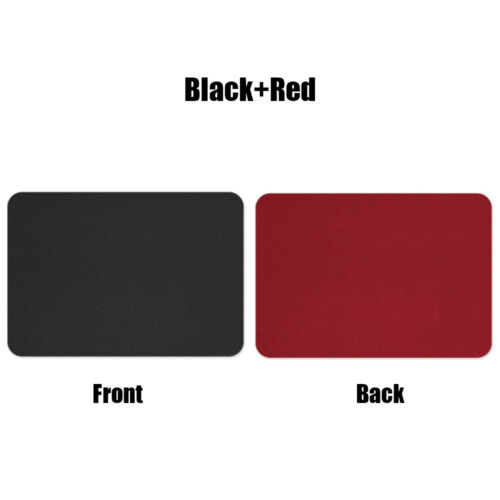 Game Mouse Pad Desk Cushion Double-sided Mice Mat For Laptop PC MacBook