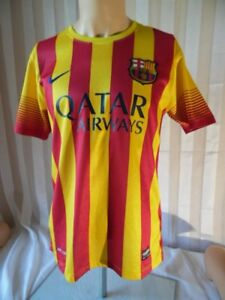 FCB-Barcelona-Football-Club-Soccer-Spain-Jersey-Soccer-Team-T-Shirt-Nike-Boys