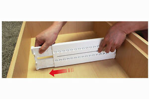 Image Is Loading Expandable Drawer Dividers Dresser Organizer Closet  Kitchen Partition