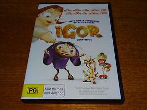 IGOR DVD *BARGAIN PRICE*