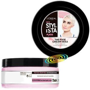 Loreal Stylista The Pixie Cream Styling Wax Short Hair 75ml Ebay