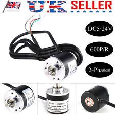 600P//R Photoelectric Incremental Rotary Encoder 5V-24V AB 2-Phases Shaft 6mm UK