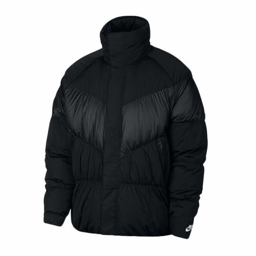 con para Sportswear de relleno 888507368201 225 cremallera Chaqueta 010 Nike completa L Msrp hombres Black 928893 qgwF4tA