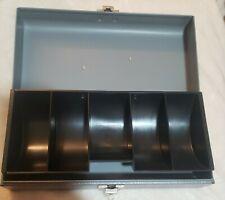 New Listingvintage Buddy Products Steel Cash Box With Money Tray No Key Lockable