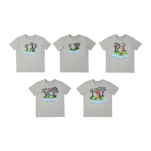 GLODANDE krekls L izmērs - dažādi zīmējumi
