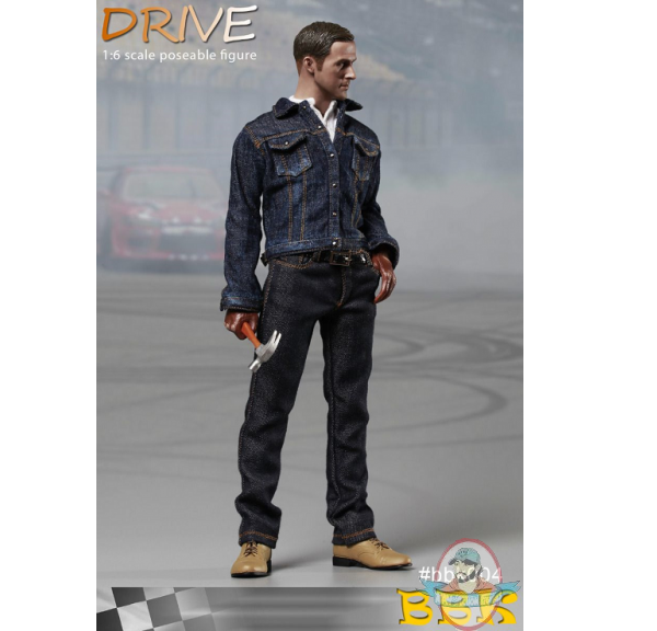 BBK Toys 1 6 Drive Driver Ryan Gosling Collectible Figure BBK 004