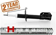 2 BRAND NEW FRONT GAS SHOCK ABSORBERS FOR FIAT PUNTO II /// GH-352373 ////