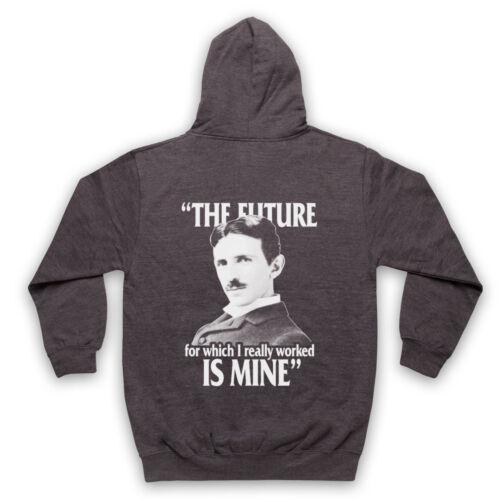 NIKOLA TESLA PHYSICS THE FUTURE IS MINE UNOFFICIAL ADULTS /& KIDS HOODIE