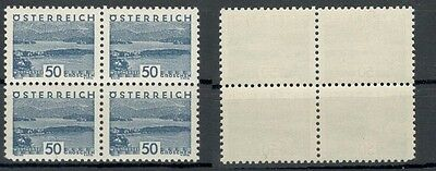 Pretty And Colorful Fast Deliver Austria 541 Block Of Four Mint Me 160 708040