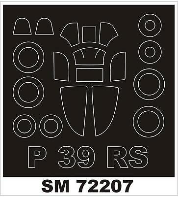 Montex 1/72 canopy masks for the P-39/P-400 RS Models - SM72207