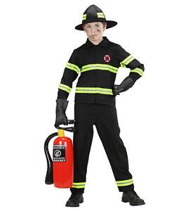 Fireman Fancy Dress Costume Firefighter Child Boy Ebay
