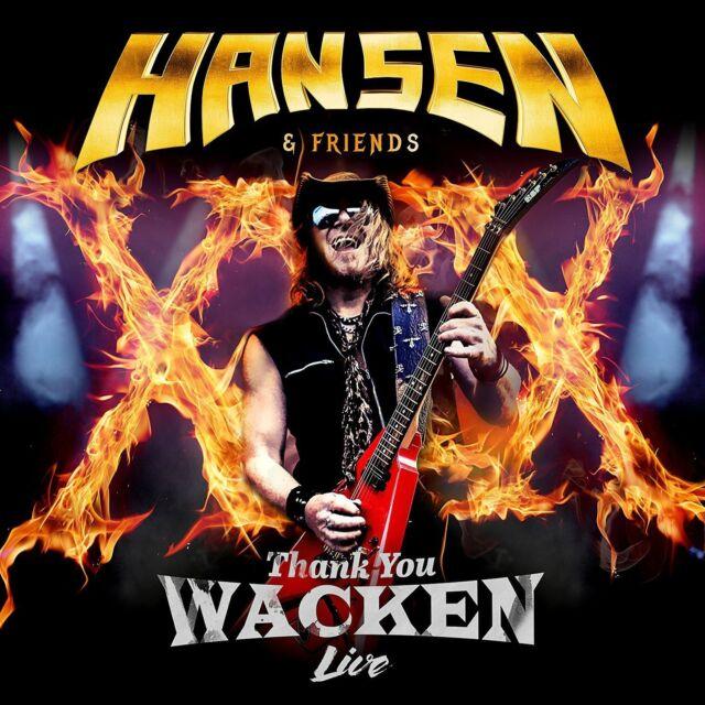 Hansen & Friends Thank You Wacken Live 2017 Vinyl 2-lp Neu Kai Hansen