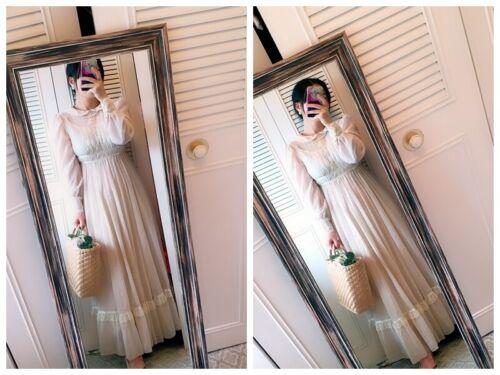 ASIS RARE vintage GUNNE SAX floral  Prairie dress… - image 1