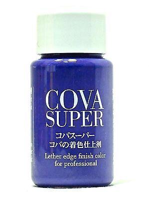 Seiwa Leathercraft Edge Enamel, Violet Leather Edge Dye Dressing Lacquer Finish