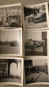 Photo-vintage-Liberation-de-Paris-26-aout-1944-d-Day-Char-Leclerc