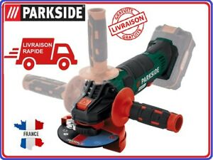 PARKSIDE-Meuleuse-d-039-angle-sans-fil-PWSA-20-Li-B2-20V-X-TEAM-disqueuse-sans-fil