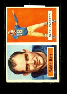 1957-TOPPS-81-TOBIN-ROTE-PACKERS-EXMINT-D026784