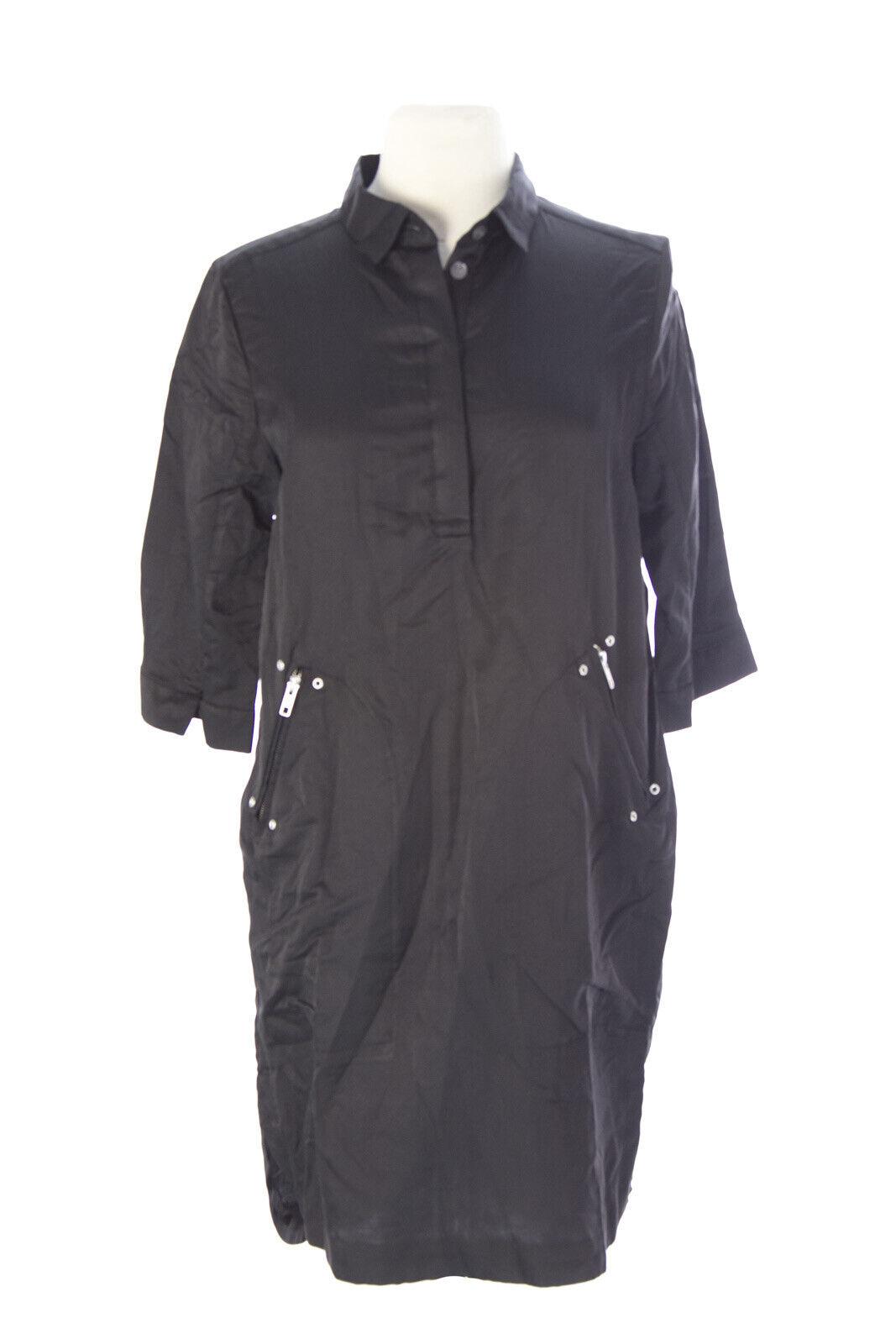 Surface To Luft DaMänner Schwarz Yaza Tunika Kleid Größe 38