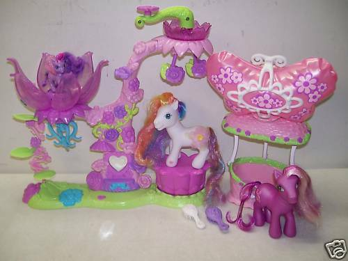 MY LITTLE PONY PARLOR DAFFIDAZEY CHERRY BLOSSOM BREEZIE BALLOON TIDDLYWINKS LOT