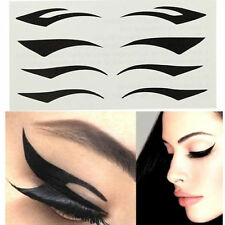 4 Styles Temporary Instant Timeless Cat Eye Eyeliner Transfer Stickers
