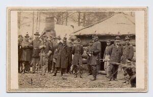 Alex Gardner : Major General George G Meade & Staff full ID Civil War 1860s CDV