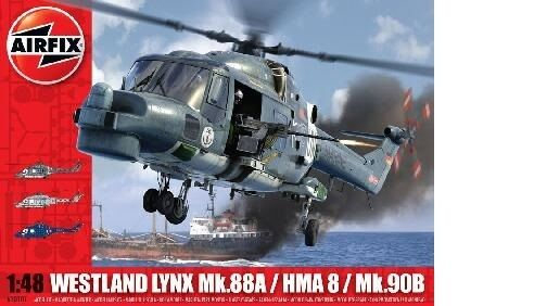 H'65533,65533,licopt 65533;65533; re'attaque navale WESTLAND SUPER LYNX - Kit AIRFIX 1  48 n 65533;65533;
