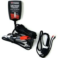 Yuasa 12v 1amp Automatic Battery Charger Maintainer