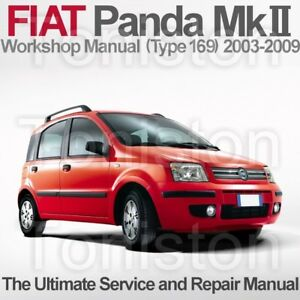 fiat panda 2003 to 2009 type 169 workshop service and repair rh ebay co uk fiat panda user guide fiat panda guide d'utilisation