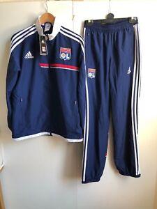 huge selection of 445d2 294d7 ... Adidas-Olympique-Lyonnais-FC-Football-Enfants-Survetement-15-