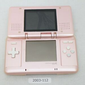 Nintendo-DS-Original-console-Pink-working-Good-condition-2003-112