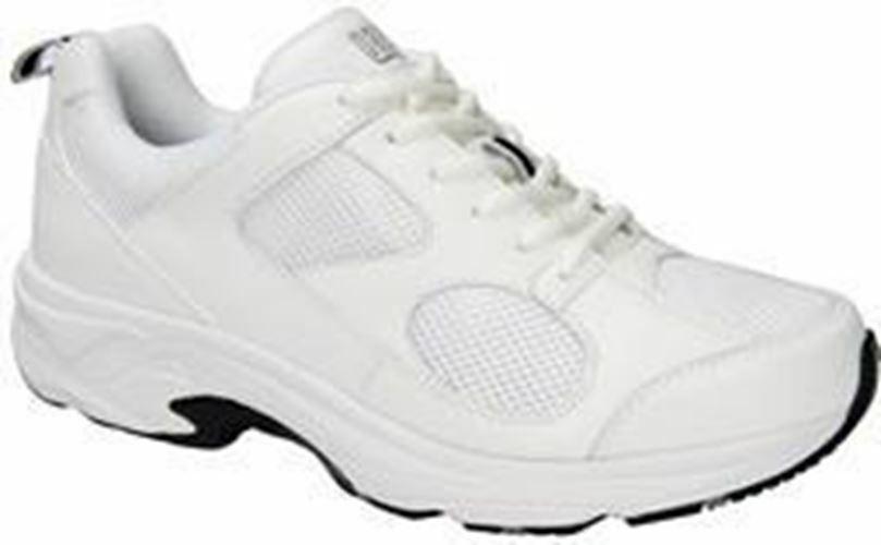 Drew Men's Lightning II Athletic shoes White Leather Mesh