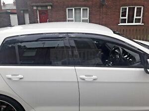 VW-GOLF-MK7-13-17-WIND-RAIN-SMOKE-DEFLECTORS-VISORS-EXTERNAL-FIT