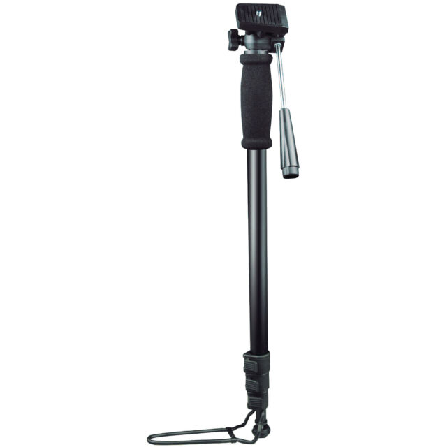 Universal DSLR Digital Camera Monopod Pole Stand with Tilt Head - Extendable