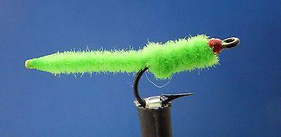 12 One Dozen Green Weenie size 16 fishing flies