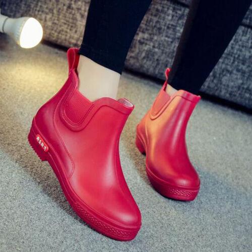 Womens Rain Shoes Water Boots Leisure Fashion Wearproof non slip shoes Wellies