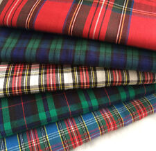 Tartan Fat Quarters Bundle *** 100% Cotton *** Free postage