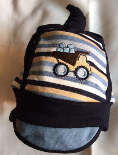 Babymütze Mütze mit Schirm  Größe 42-46 Baumwolle blau grau grün khaki Jungen
