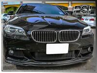 2011+ Bmw F10 Ak Style Carbon Fiber M-tech Front Bumper Lip 528i 535i 550i
