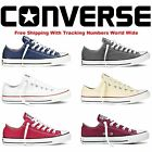 Convers Lo Top Mens Womens Unisex Low Tops Chuck Taylor Trainers Shoes New