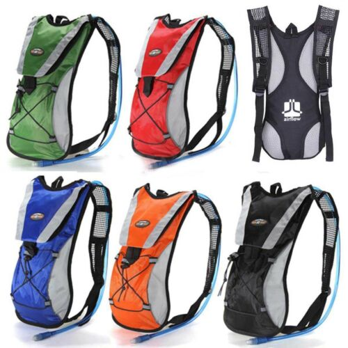 Cycling Backpack 2L Water Bladder Bags Hydration Packs Camelback Hiking Outdoors