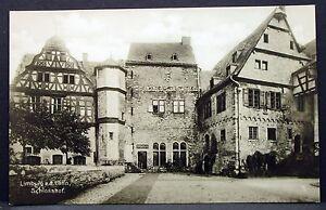Limburg-on-the-Lahn-Schlosshof-Old-Ak-Postcard-Y-3078