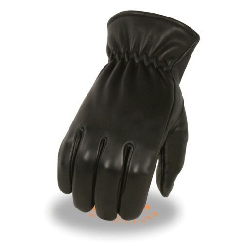 Milwaukee Leather Men's Deerskin Thermal Lined Gloves w// Cinch Wrist**SH858